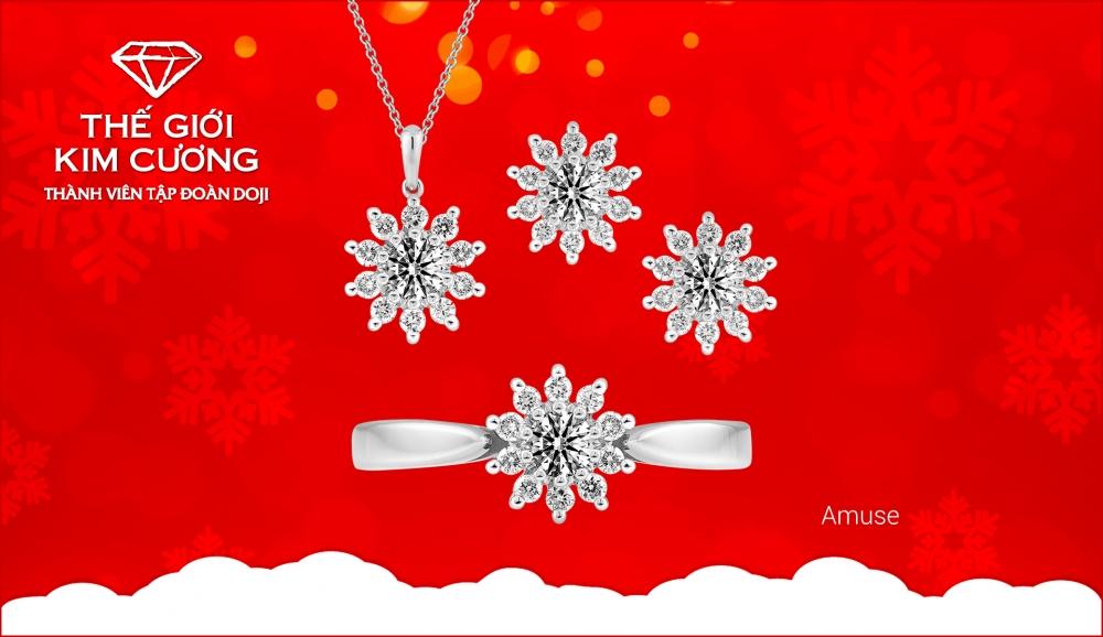 Thế Giới Kim Cương ưu đãi tới 20% dịp Noel