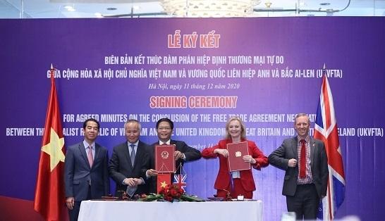 Hiệp định thương mại tự do Việt Nam - Anh chính thức được ký kết