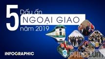 5 dấu ấn ngoại giao Việt nam năm 2019