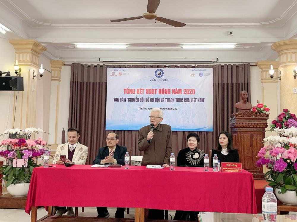 Tọa đàm học thuật: Chuyển đổi số, cơ hội và thách thức của Việt Nam