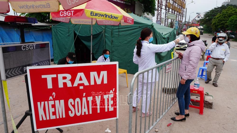 Hải Dương: Công nhân mắc Covid-19, thị xã Kinh Môn phong tỏa 3 khu dân để truy vết