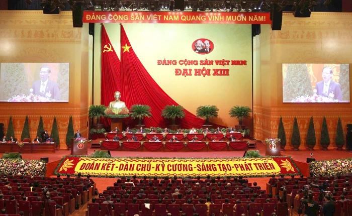 Danh sách các đồng chí trúng cử vào Ban Chấp hành Trung ương Đảng khóa XIII gồm 200 đồng chí, trong đó 180 Ủy viên chính thức và 20 Ủy viên dự khuyết.