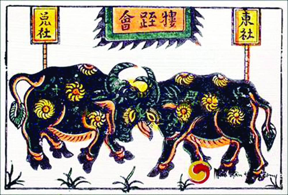 Thần Ngưu gắn bó với văn minh lúa nước của 11 nước khối ASEAN từ hàng ngàn năm nay