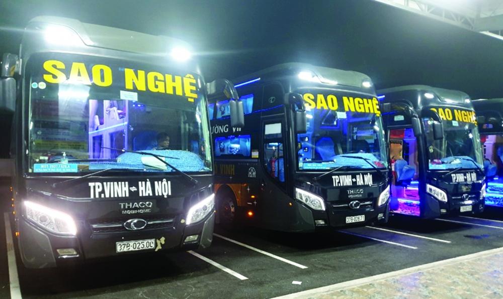 Nhà xe Sao Nghệ: Phục vụ khách hàng bằng cái tâm của nghề vận tải