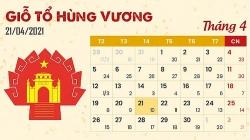 Giỗ tổ Hùng Vương năm 2021 được nghỉ duy nhất 1 ngày