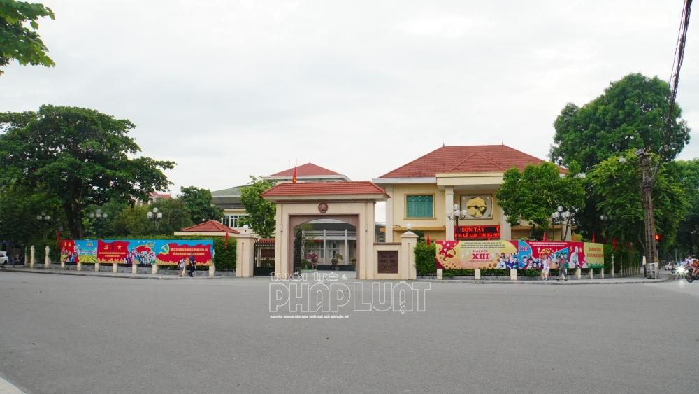 UBND TP Hà Nội phê duyệt chỉ giới đường đỏ đường tỉnh 413 qua thị xã Sơn Tây