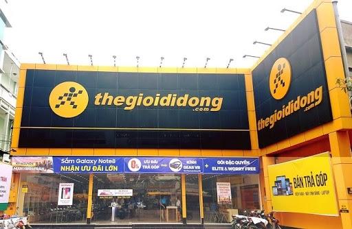 Thế giới di động dẫn đầu các sàn thương mại Việt Nam