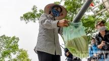 """""""ATM gạo"""" bất ngờ xuất hiện tại Hà Nội"""