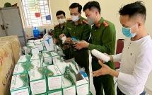 Công ty TNHH may HGP bị xử phạt vì sản xuất khẩu trang giả