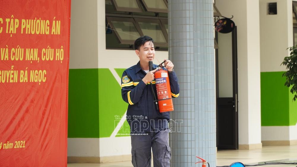 Thiếu uý Khúc Ngọc Hiệp - Phòng tuyên truyền, Cục Cảnh sát Phòng cháy, chữa cháy và cứu hộ, cứu nạn Bộ Công an