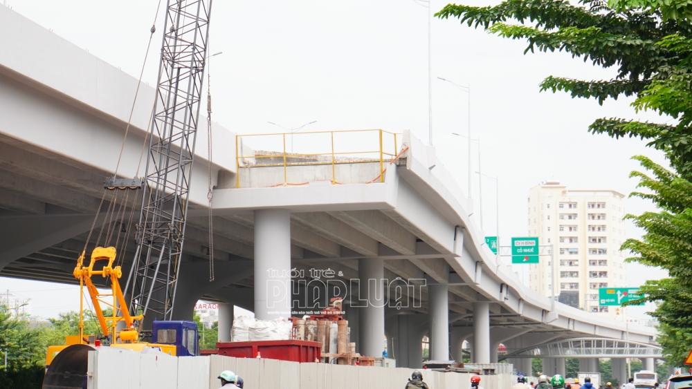 6 ramp kết nối lên/xuống sẽ được hoàn thiện trong thời gian này