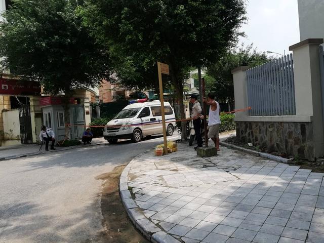 Khu đô thị Dương Nội - nơi nạn nhân P bị vấp ngã dẫn tới tử vong