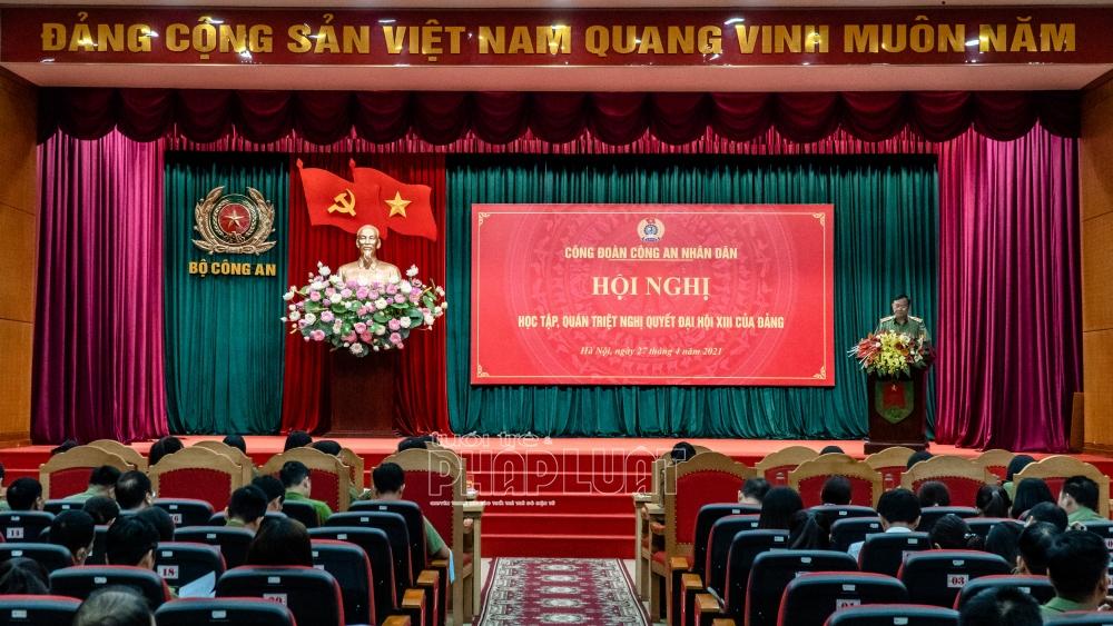 Công đoàn CAND triển khai Nghị quyết Đại hội XIII của Đảng