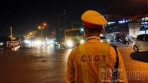 Lực lượng CSGT Hà Nội gặp nhiều khó khăn khi kiểm soát xe quá khổ, quá tải