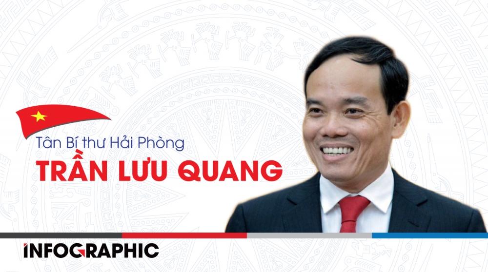 Đồng chí Trần Lưu Quang đảm nhiệm chức Bí thư Thành ủy Hải Phòng