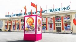 Hải Phòng đỏ rực khẩu hiệu hướng tới Ngày bầu cử