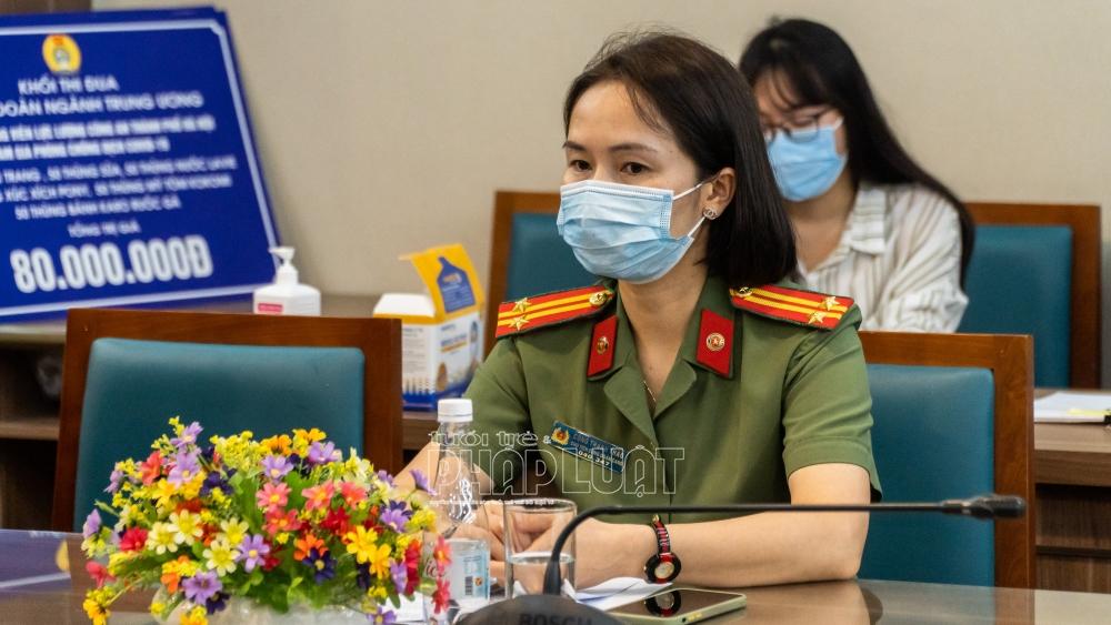 Trung tá Công Thanh Thảo - Ủy viên Ban Chấp hành Tổng Liên đoàn Lao động Việt Nam, Chủ tịch Công đoàn Công an Nhân dân
