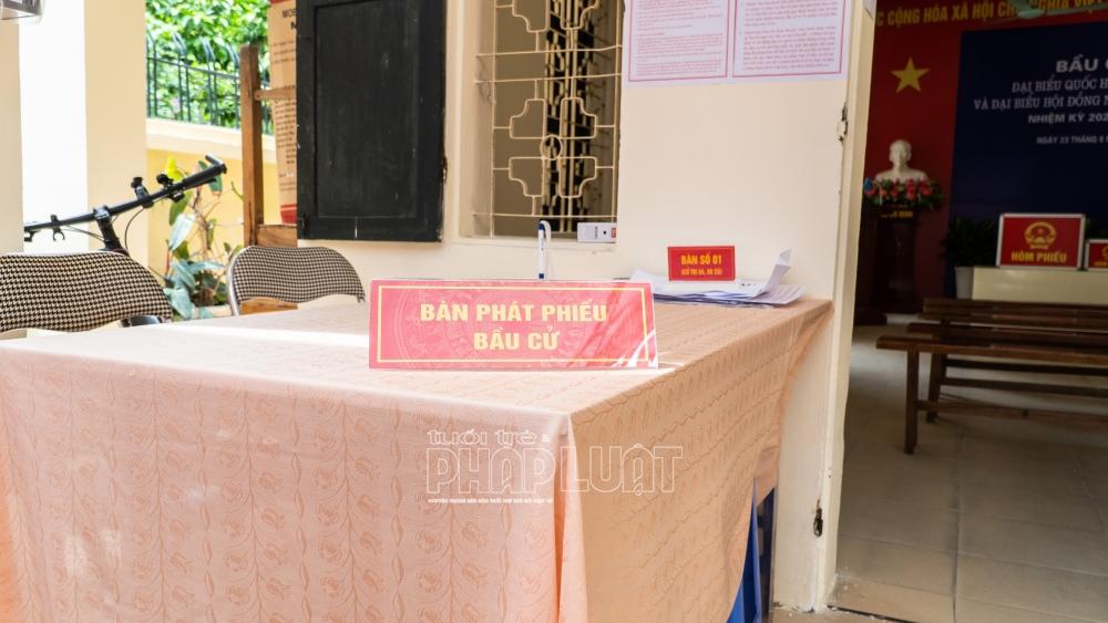 Hà Nội: Các khu vực bỏ phiếu sẵn sàng cho Ngày bầu cử