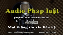 audio phap luat ngay 76 khoi to thanh nien tong guc csgt tren pho