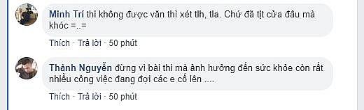 khoanh khac nam sinh an ui dong vien nu sinh sau buoi thi ngu van