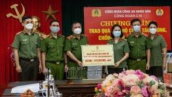 Món quà nghĩa tình cho đoàn viên Công đoàn Công an Nhân dân