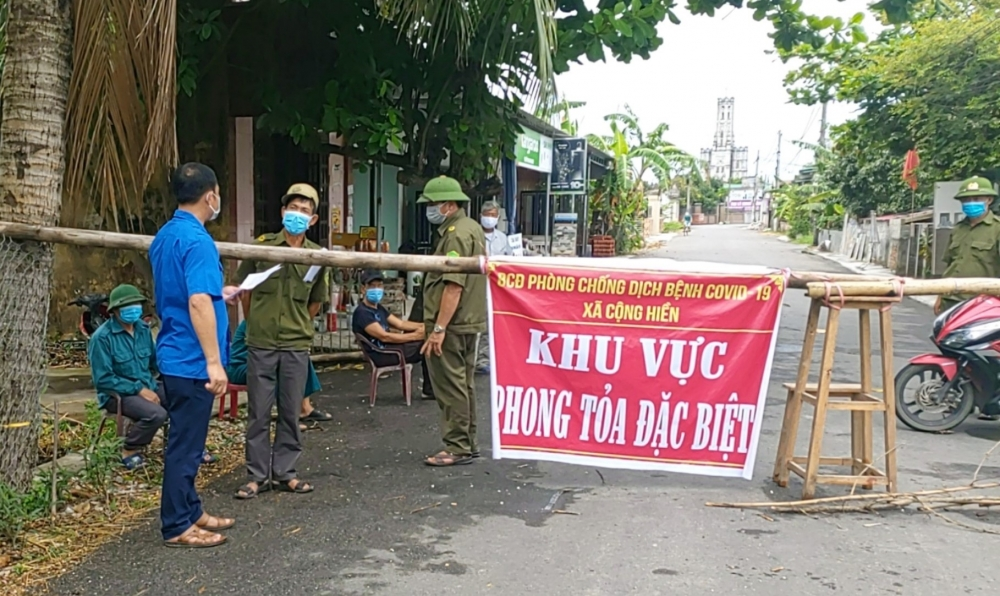 """Hải Phòng: Thông tin """"có 40 ca dương tính tại huyện Vĩnh Bảo"""" là sai sự thật"""