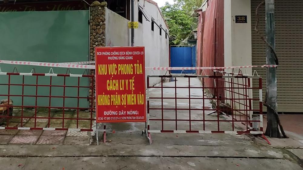 Ca dương tính được ghi nhận tại phường Đằng Giang, quận Ngô Quyền