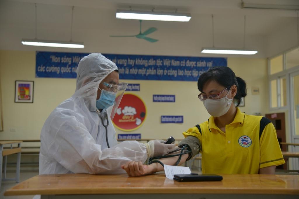 Quận Ba Đình sẵn sàng xử lý mọi tình huống trong kỳ thi tốt nghiệp THPT 2021