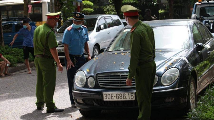 Lực lượng chức năng kiểm tra phhowng