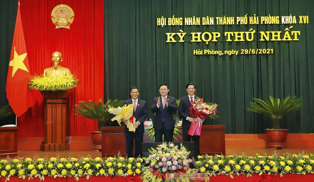 Đồng chí Nguyễn Văn Tùng tái đắc cử Chủ tịch UBND TP Hải Phòng