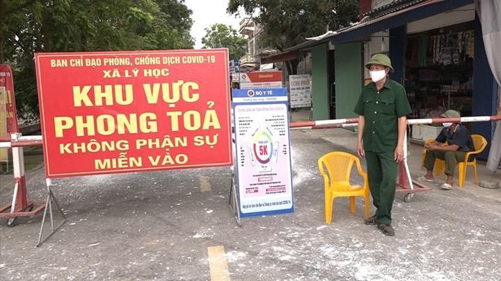 Ca dương tính với virus SARS-CoV-2 ghi nhận tại thôn 3, xã Lý Học, huyện Vĩnh Bảo