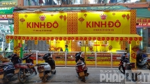 Chưa tới cao điểm, tiệm bán bánh Trung thu đã ngập tràn phố Hà Nội