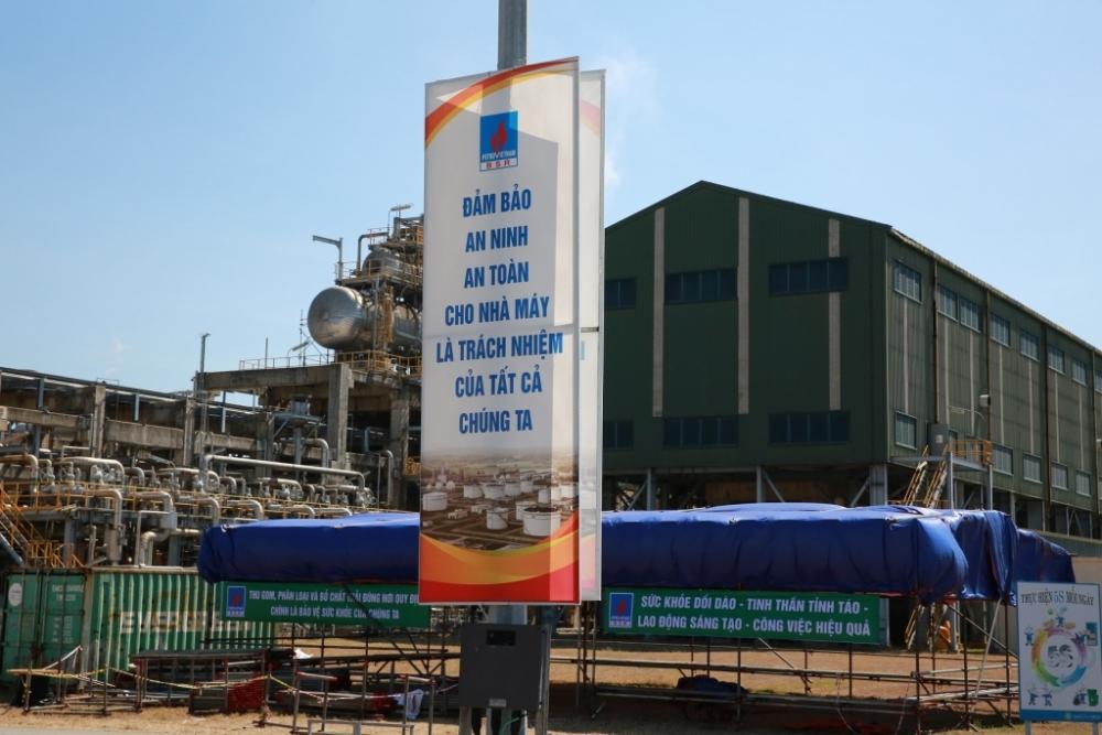 Sẵn sàng bảo dưỡng tổng thể Nhà máy lọc dầu Dung Quất