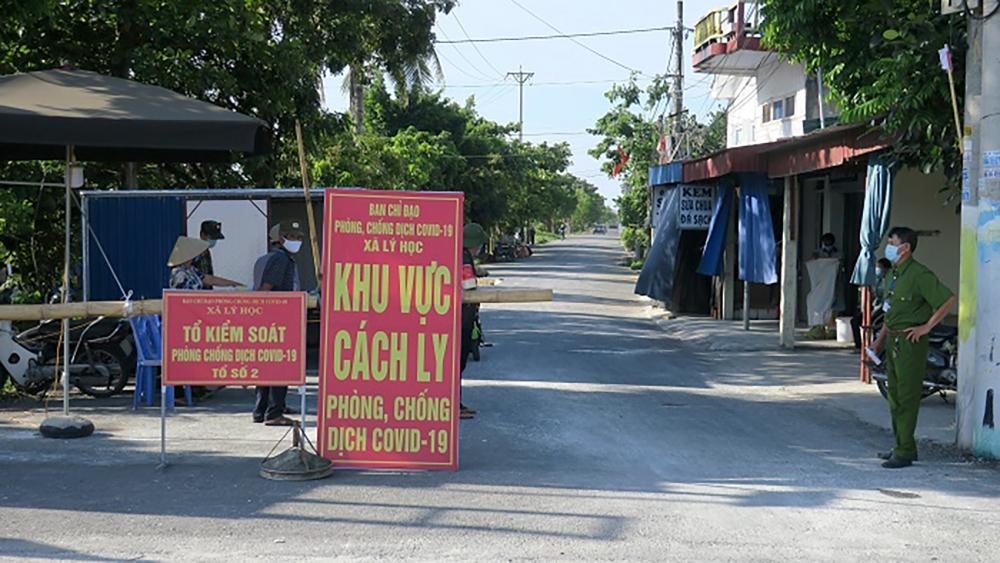 Toàn bộ huyện Vĩnh Bảo (Hải Phòng) đang thực hiện giãn cách xã hội theo Chỉ thị 16