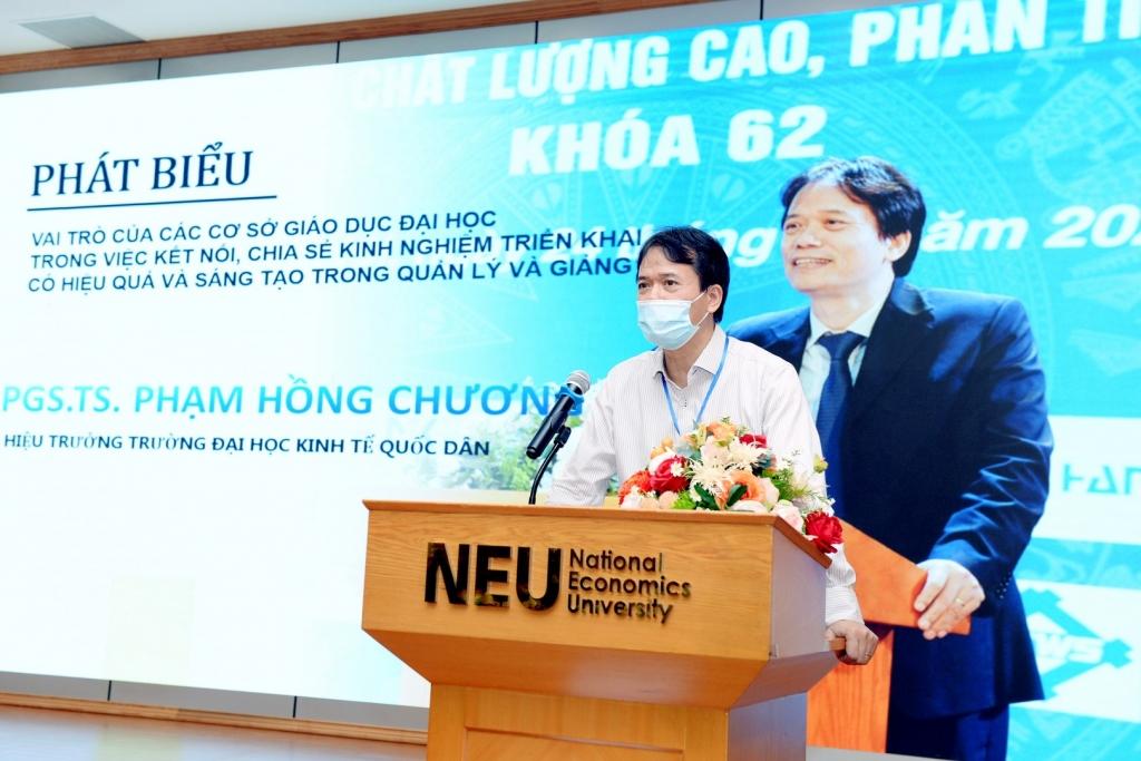 PGS.TS Phạm Hồng Chương – Hiệu trưởng trường ĐH Kinh tế Quốc dân