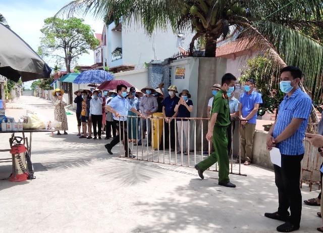 Gỡ cách ly y tế 18 hộ dân tại xã Mai Đình, huyện Sóc Sơn