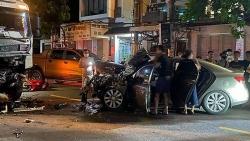 Hải Phòng: Tai nạn liên hoàn khiến 2 người thương vong