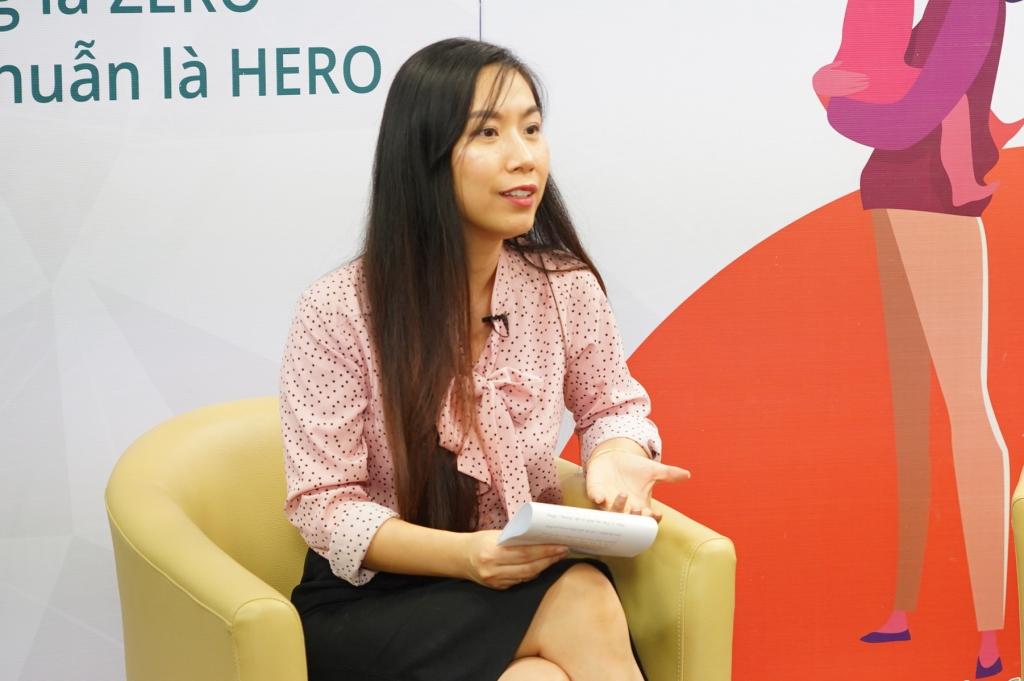 Bà Nguyễn Phương Linh - Viện trưởng MSD