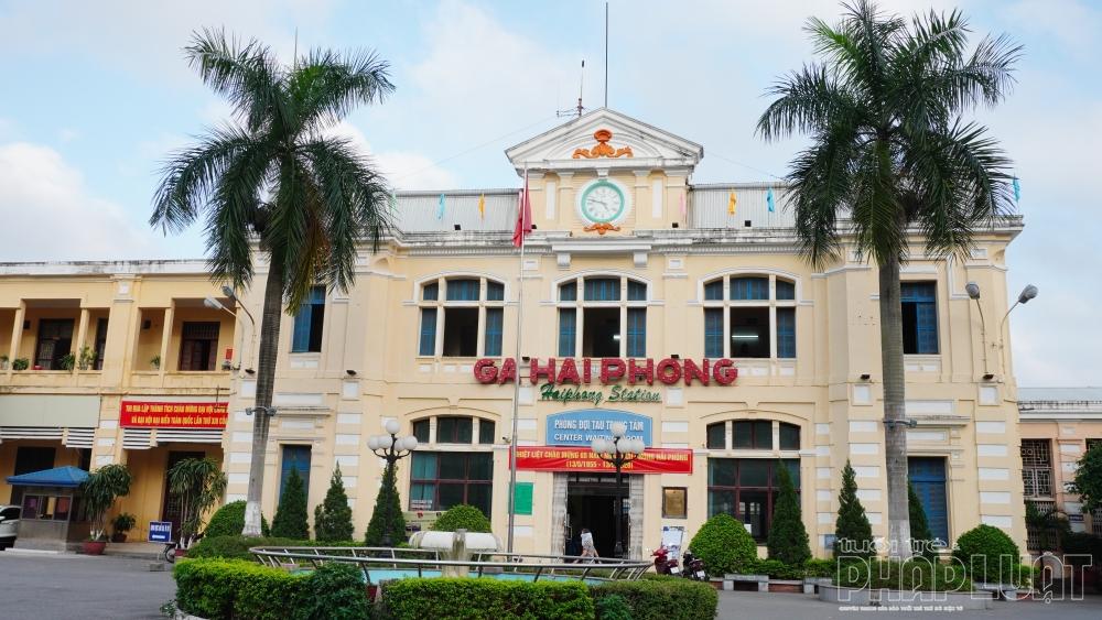 Lịch chạy tàu khách Hải Phòng - Hà Nội sẽ thay đổi theo ngày