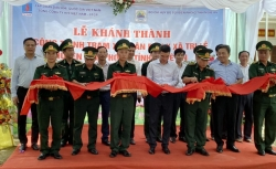 PV GAS tài trợ 4 tỷ đồng xây Trạm xá quân dân y xã Tri Lễ, Nghệ An