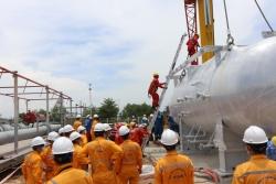 KVT thực hiện cải hoán tại GPP Dinh Cố để đáp ứng yêu cầu tiếp nhận khí NCS2