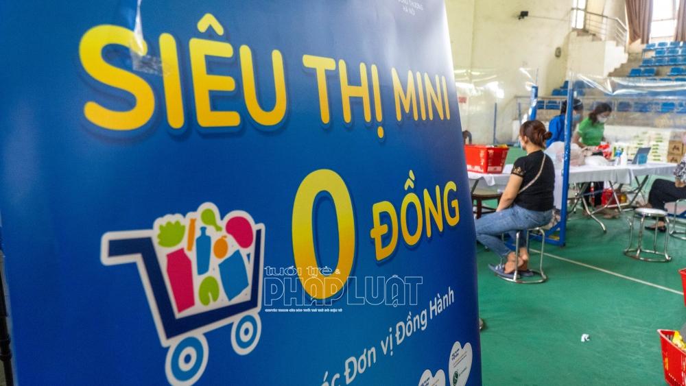 Siêu thị mini 0 đồng tại huyện Thanh Oai do Alphanam Green Foundation vận hành