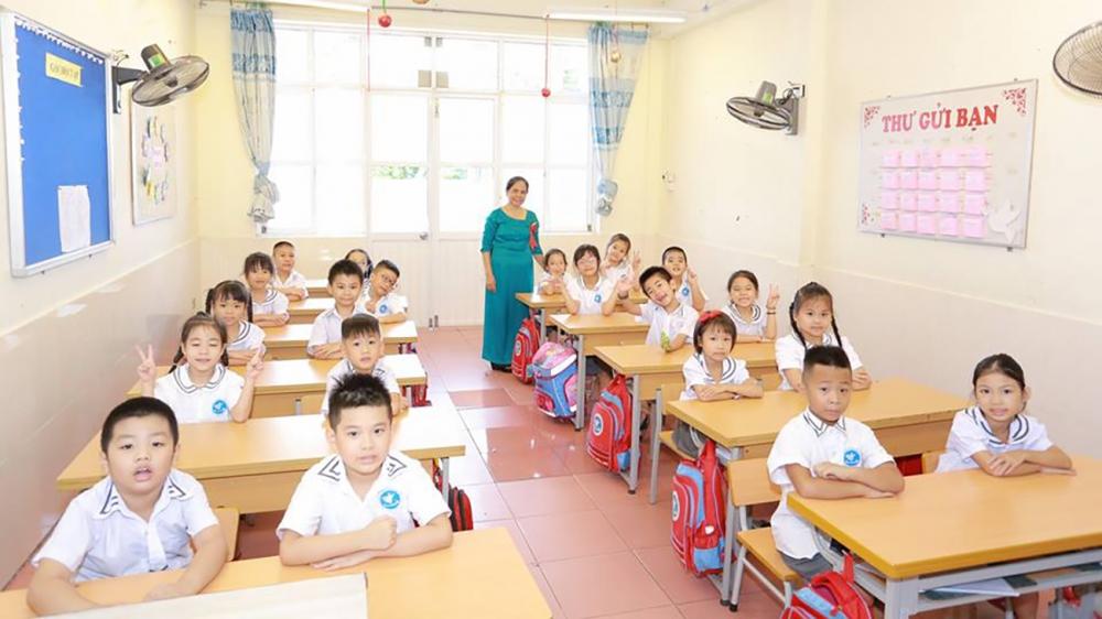 Ngày 25/8, học sinh lớp 1 ở Hải Phòng sẽ tựu trường. Ảnh minh hoạ