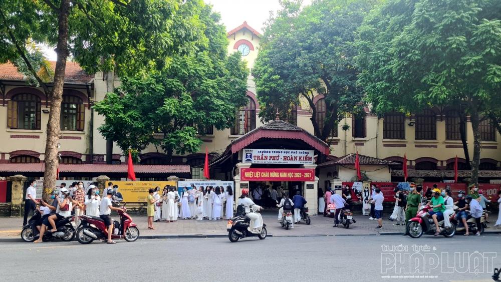 Hà Nội: Huy động nhiều lực lượng đảm bảo TTATGT trong ngày khai giảng