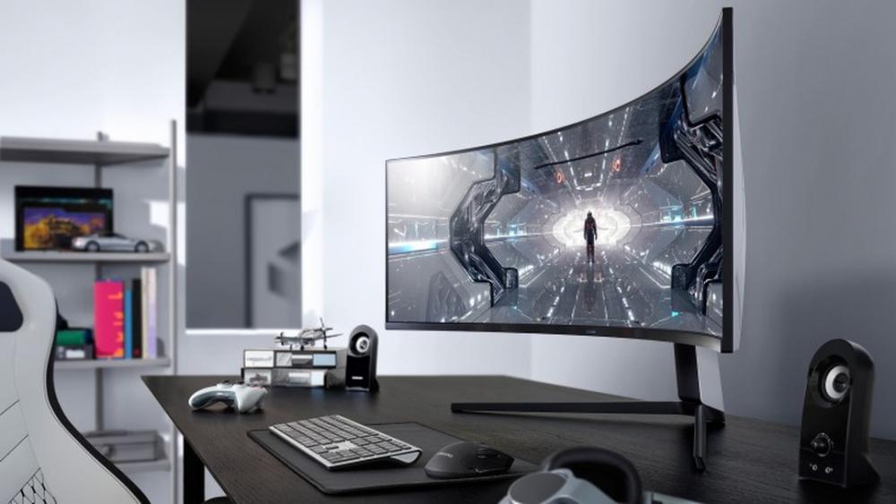 Odyssey G5 vừa được Samsung giới thiệu sở hữu công nghệ màn hình cong hiện đại nhất hiện nay với độ cong 1000R