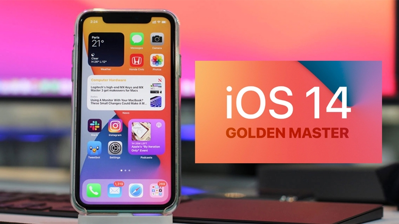 Phiên bản iOS 14 dành cho iPhone 6S/ 6S Plus trở lên, iPhone SE thế hệ đầu tiên và iPod touch gen 7.