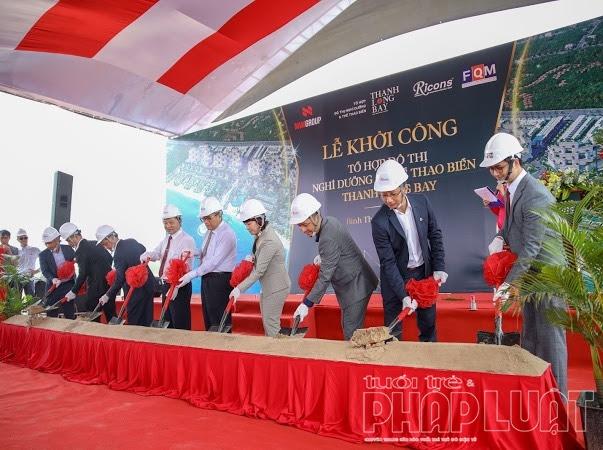 Nam Group khởi công tổ hợp Đô thị nghỉ dưỡng và thể thao biển chuẩn 5 sao Quốc tế đầu tiên