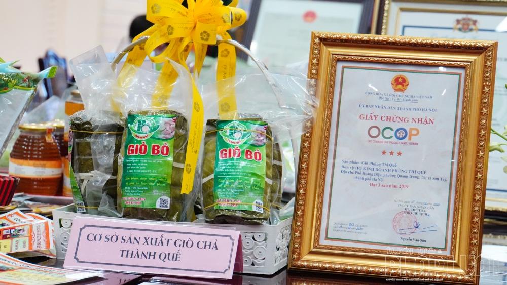 Thị xã Sơn Tây: 29 sản phẩm tham gia đánh giá, phân hạng OCOP