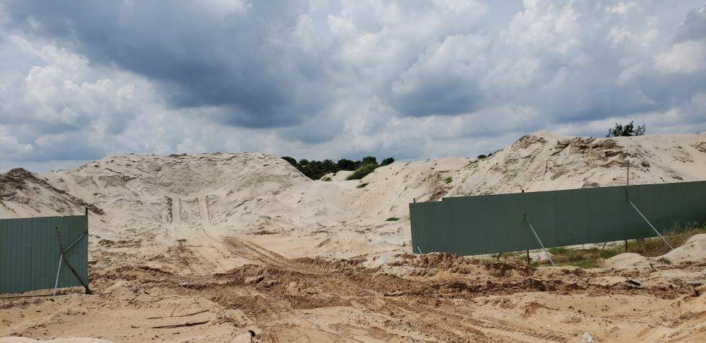 UBND tỉnh BR - VT tịch thu 32 m3 cát san lấp đã khai thác được quy đổi thành tiền 32 m3 x 69.000 đồng = 2.208.000 đồng