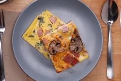 Hướng dẫn làm món trứng vuông thập cẩm